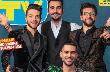 Ultimo scappa anche dalla copertina di Tv Sorrisi e Canzoni dedicata ai primi 3 classificati – la cover