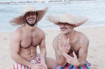 Ricky Martin e Jwan Yosef in costume sui social, le foto