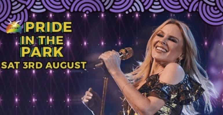 Brighton Pride 2019, Kylie Minogue superstar
