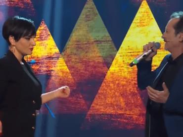 """Sanremo 2019, Arisa canta """"Basilicata on my mind"""" con Rocco Papaleo al DopoFestival – video"""