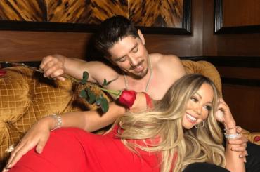 Mariah Carey, San Valentino d'amore con Bryan Tanaka – foto