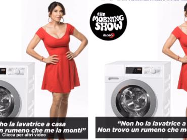 Carmen Di Pietro, 'non ho la lavatrice, non trovo un rumeno che me la monti' – audio
