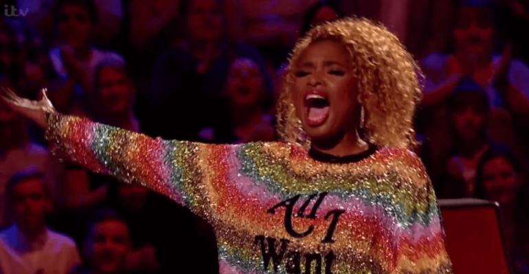 The Voice UK, incredibile live di Jennifer Hudson – video