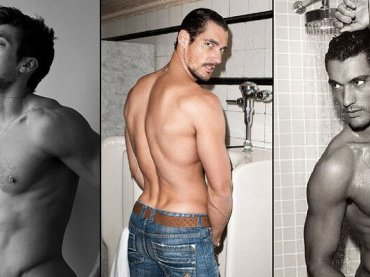 David Gandy compie 40 anni, la gallery hot celebrativa