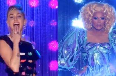 RuPaul Drag's Race 11, Miley Cyrus nei panni di giudice – lo spot