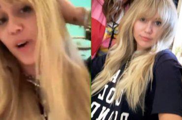 Miley Cyrus torna Hannah Montana per i 13 anni del programma, i video