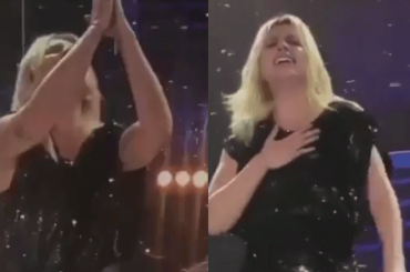 Emma Marrone devastata e in lacrime al concerto di Roma, il video