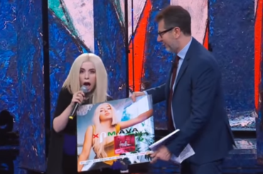 """Ava Max, la Lady Gaga di origini albanesi da Fabio Fazio – il live di  """"Sweet but Psycho"""""""