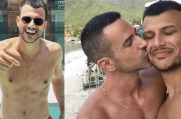Eurovision 2019, ecco il presentatore Assi Azar: le sexy foto social (e i dolci baci con il fidanzato)
