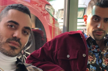 Mahmood e Marracash separati alla nascita, l'incontro in foto