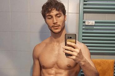 Federico Massaro in mutande per Dolce e Gabbana Underwear – le foto social