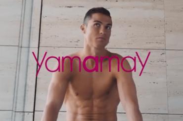 Cristiano Ronaldo in mutande per Yamamay, foto e video