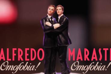 Alfredo Marasti canta OMOFOBIA, il video