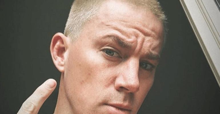 Channing Tatum nudo in doccia, la foto social grazie a Jessie J