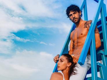 Ignazio Moser nudo alle Maldive, le foto social di Cecilia Rodriguez