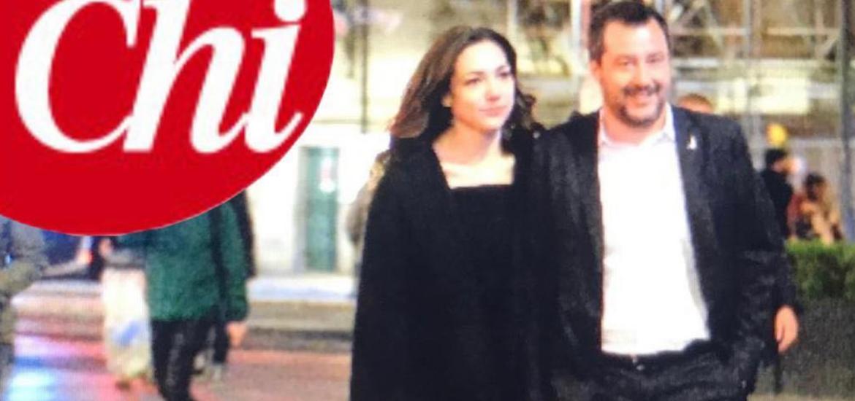 Matteo Salvini, Prima Foto Mano Nella Mano Con La 26enne