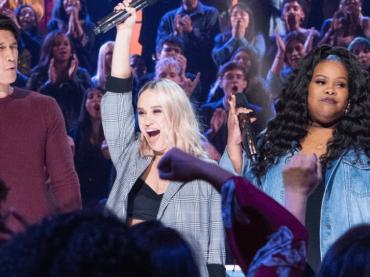 Glee, REUNION rap a Drop The Mic – il video