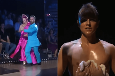 Courtney Act, tango show a Dancing With The Stars, il video