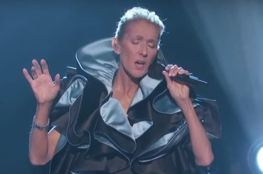 "Céline Dion, primo live tv di ""Ashes"" – il video"
