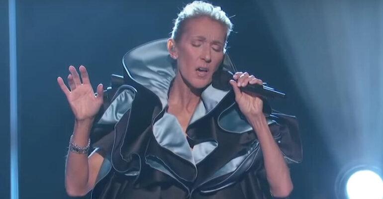 """Céline Dion, primo live tv di """"Ashes"""" – il video"""