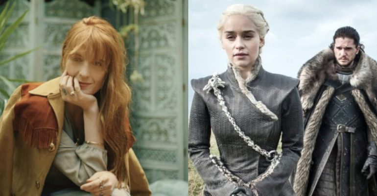"""Game of Thrones 8, Florence + the Machine canta """"Jenny of Oldstones"""" – video"""
