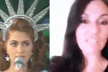Sandra Marchegiano,  il videomessaggio da New York 27 anni dopo Miss Italia nel Mondo