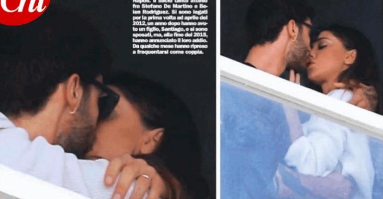 Belén Rodríguez bacia Stefano De Martino, la coppia è risorta – le foto CHI