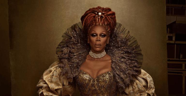 RuPaul regina drag fotografata da Annie Leibovitz