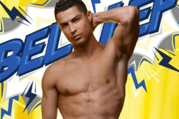 Cristiano Ronaldo, pioggia di pacchi in mutande – le foto social