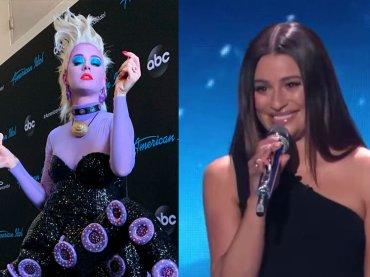 Lea Michele canta La Sirenetta ad American Idol (con Katy Perry vestita da Ursula) – video