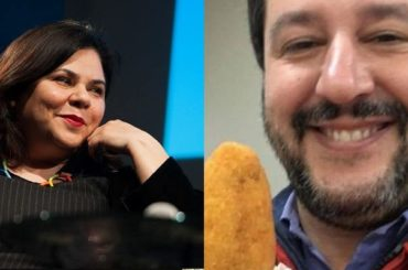 Michela Murgia distrugge Matteo Salvini, l'epico post Facebook