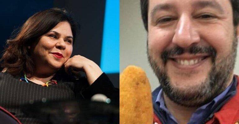 Michela Murgia distrugge Matteo Salvini, l'epico post Facebook