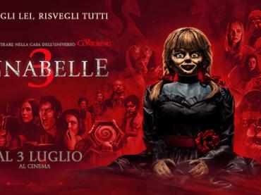 Annabelle 3, poster e nuovo trailer italiano