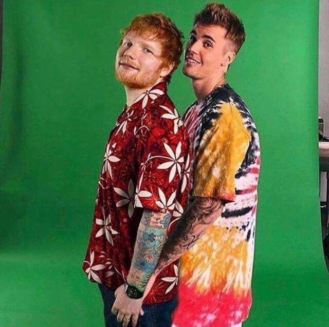Ed Sheeran Justin Bieber I Don T Care