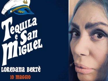 Loredana Bertè punta l'estate: arriva Tequila e San Miguel  feat. Paradiso, Calcutta e Takagi e Ketra – preview audio