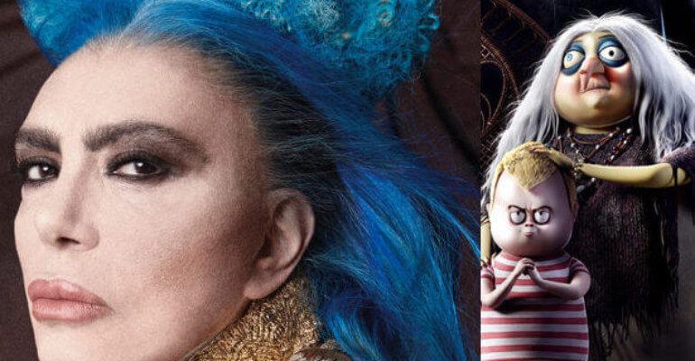 Loredana Bertè doppierà la NONNA de La Famiglia Addams