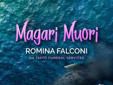 Magari Muori, Romina Falconi canta per TAFFO: 'ho scritto un brano con i miei amici che fanno le pompe (funebri)'