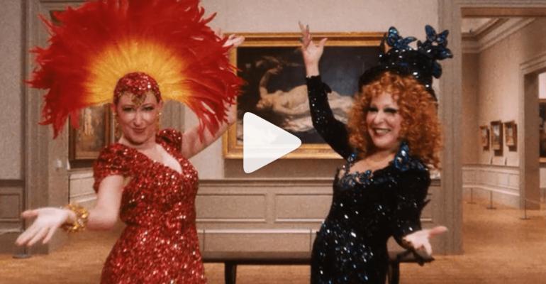 Cher canta Waterloo e Bette Midler balla Believe al Met Gala 2019 – video