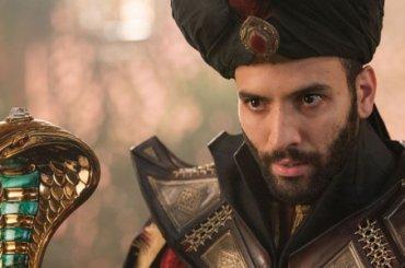 Aladdin, Marwan Kenzari aka JAFAR tutto nudo, le gif