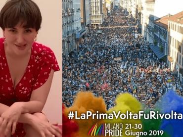 """Arisa lancia il Milano Pride: """"Siate forti, non mollate, W i diritti e W l'amore"""" – video"""