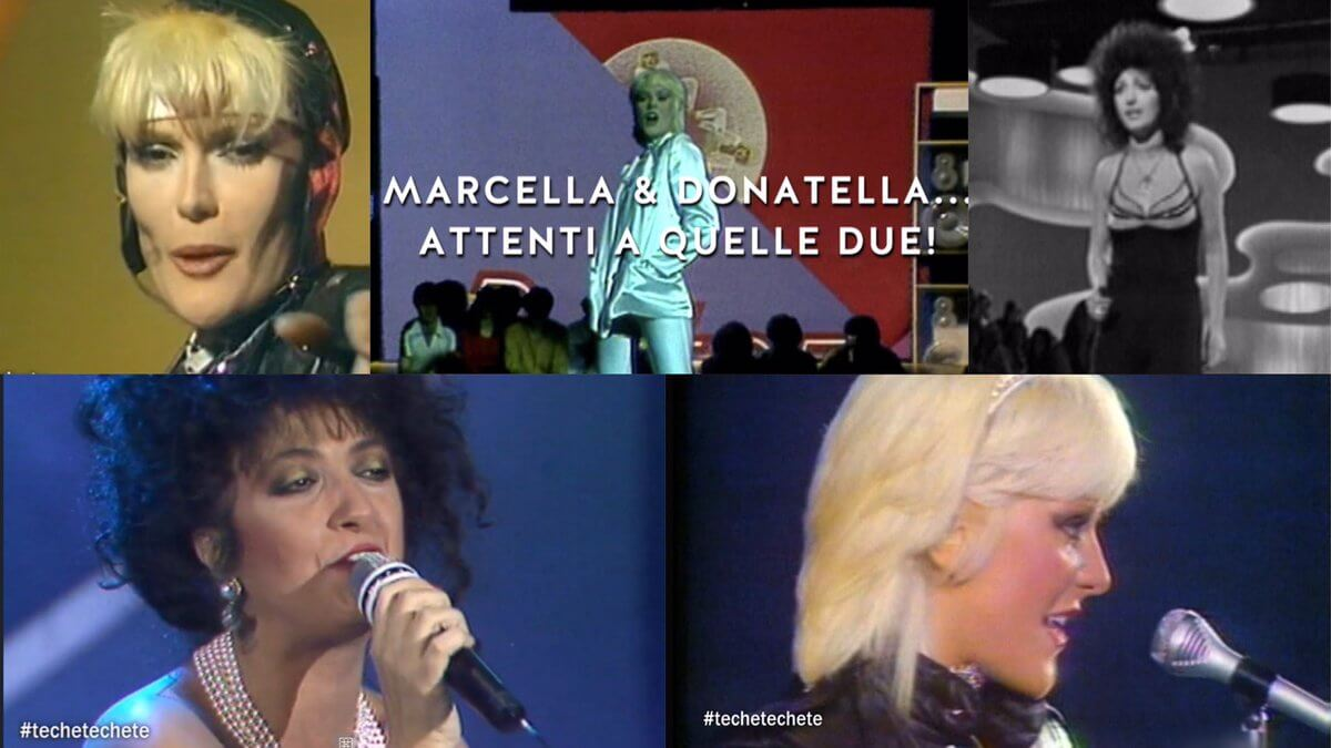 Techetechetè, STASERA puntatone Marcella Bella vs  Donatella