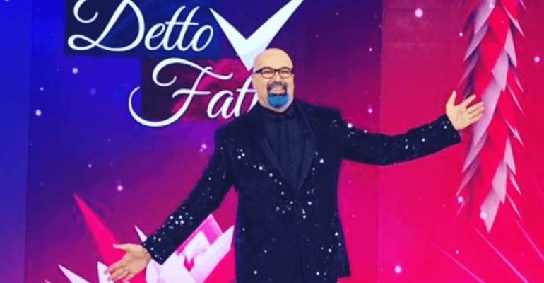 Giovanni Ciacci lascia ufficialmente Detto Fatto