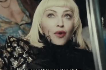 Madonna diventa Raffaella Carrà per il video di GOD CONTROL (prossimo singolo!)