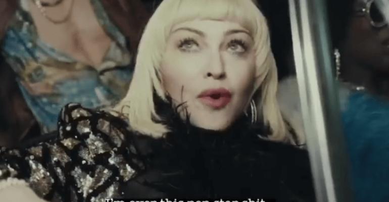 God Control di Madonna, preview video