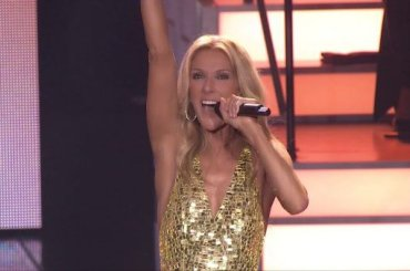 Flying On My Own, Celine Dion saluta Las Vegas con il live del suo nuovo singolo – video