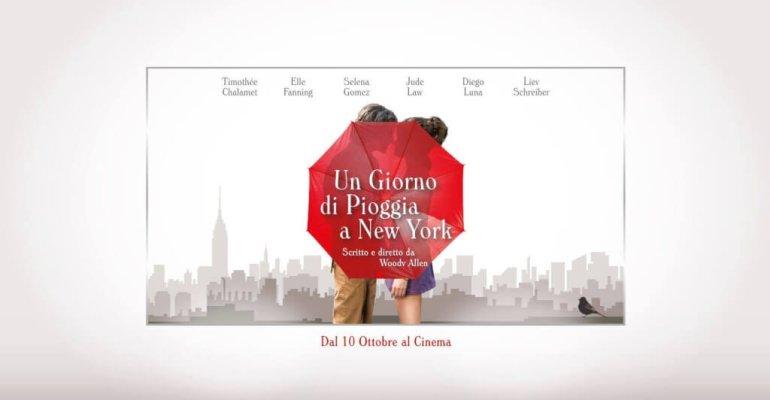 Un giorno di pioggia a New York: trailer italiano e poster del nuovo film di Woody Allen con TIMOTHÉE CHALAMET