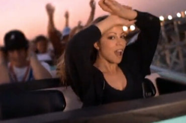 "Mariah Carey torna su una montagna russa 23 anni dopo ""Fantasy"", video"