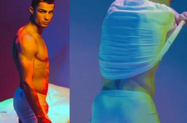 Cristiano Ronaldo in mutande, backstage dalla nuova campagna di intimo – video e foto