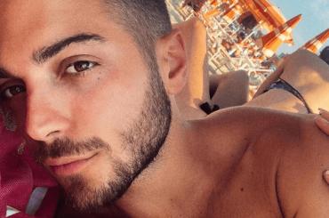 Gianluca Ginoble de Il Volo, prime foto social in costume del 2019