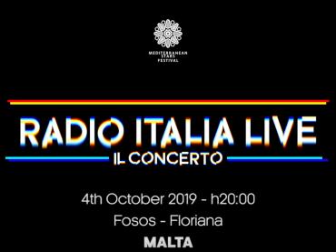Radio Italia Live sbarca a MALTA, ecco i cantanti